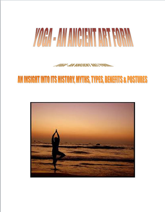 Yoga-An Ancient Art Form