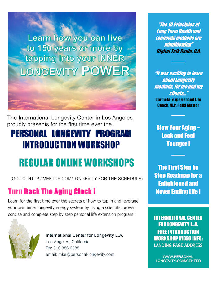 LEARN HOW TO LIVE TO 150 YEARS OR OLDER-Webinars