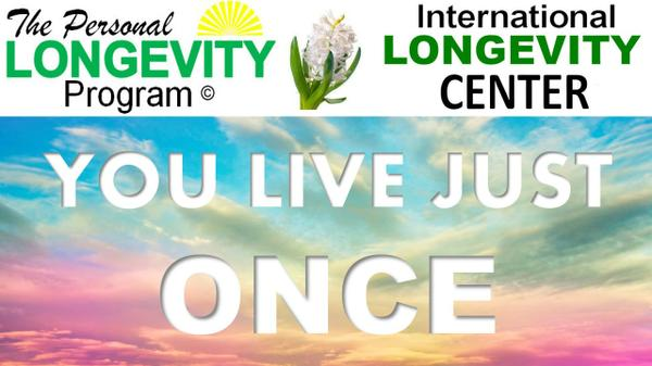 For our Likers or Subscribers Only ! Hurry – Get a FREE 12 Lesson Course on Personal Longevity !